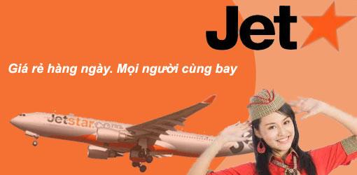 Đặt vé Jetstar